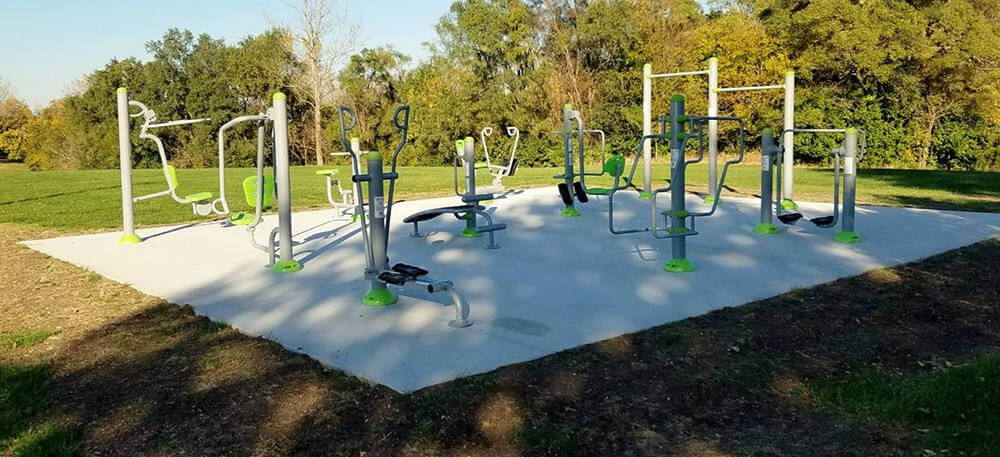 outdoor fitness equipment-2