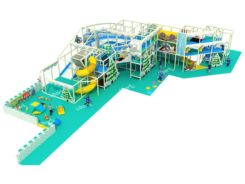 Liben Ice Theme Indoor Soft Play