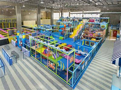 Liben Indoor Soft Play Equipment Project (4)