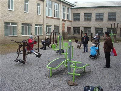 Outdoor fitness equipment project (2)