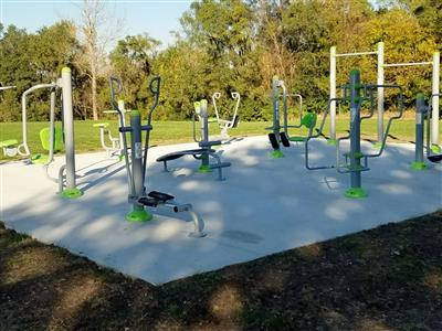 outdoor gym equipment project (4)