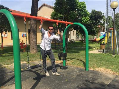 Liben playground swing