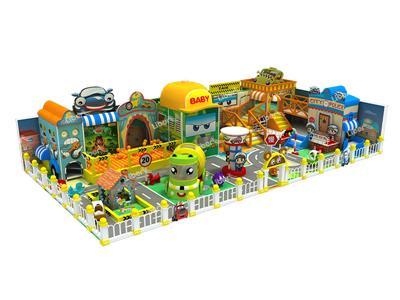 Liben Traffic Theme Indoor Play Structure