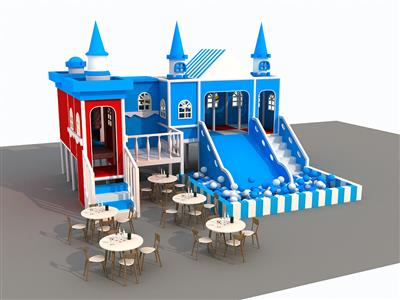 Liben Indoor Soft Play Castle